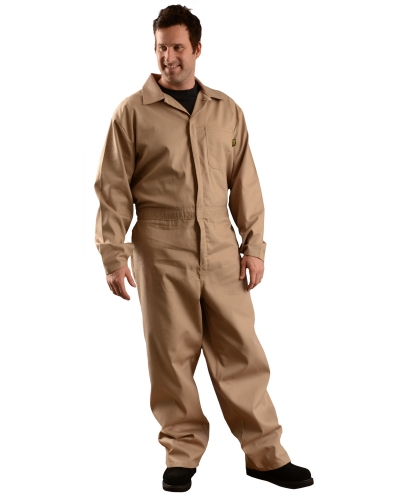 Men's Value Cotton Flame Resistant HCR 1 Coverall