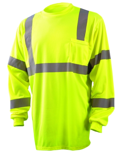 Men's Long Sleeve Wicking Birdseye Shirt