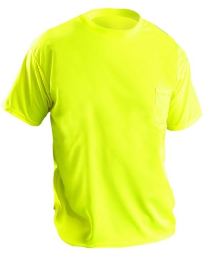 Men's Wicking Birdseye Non-Ansi T-Shirt