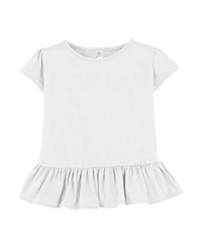 Toddler Fine Jersey Ruffle T-Shirt