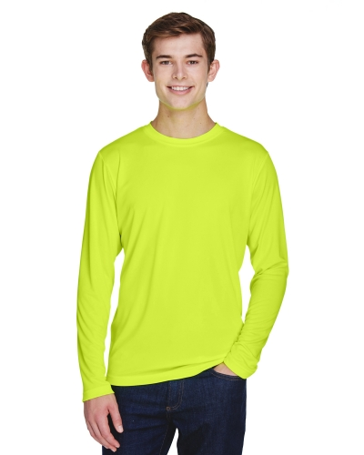 Team 365 TT11L Men's Zone Performance Long-Sleeve T-Shirt