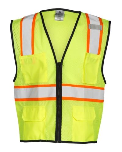 4 Pocket Contrast Mesh Vest