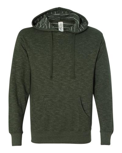 Baja Stripe French Terry Hooded Pullover Sweatshirt