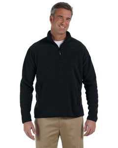 Polartec Colorblock Quarter-Zip Fleece Jacket