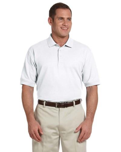 Men's Tall Pima Pique Short-Sleeve Polo