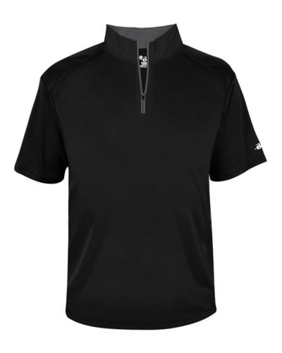 B-Core Short Sleeve 1/4 Zip Tee