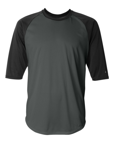 B-Core Three-Quarter Sleeve Baseball T-Shirt