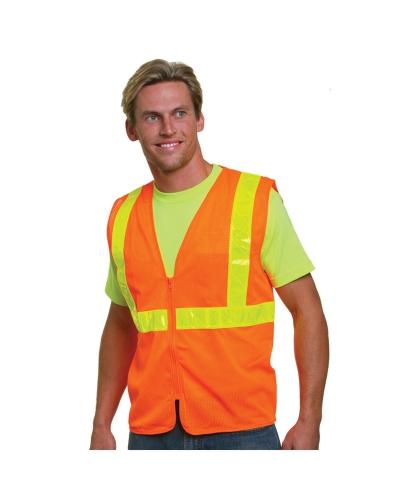 Mesh Safety Vest Orange