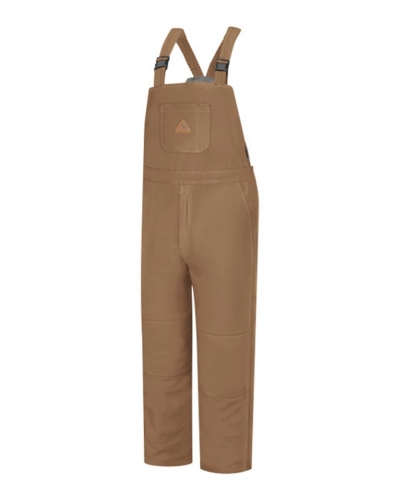Brown Duck Deluxe Insulated Bib Overall - EXCEL FR® ComforTouch
