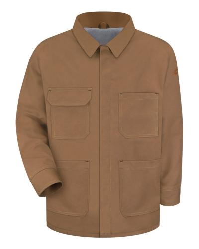 Brown Duck Lineman's Coat - EXCEL FR® ComforTouch® - Long Sizes