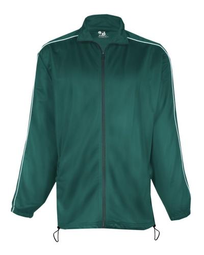 Brushed Tricot Razor Full-Zip Jacket
