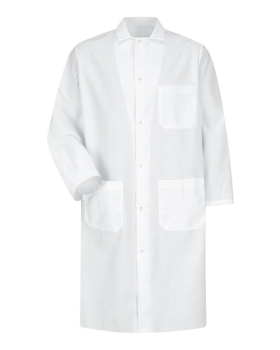 Butcher Coat with Interior Chest Pocket