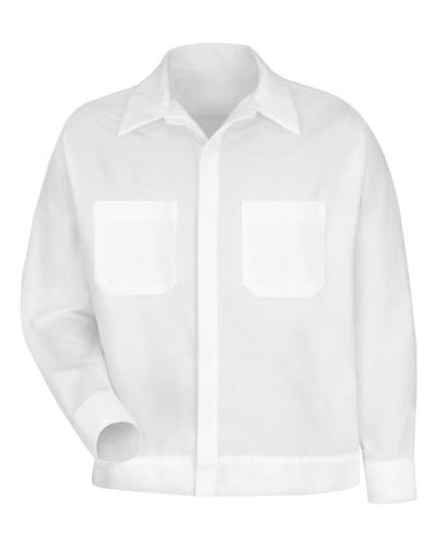 Button-Front Shirt Jacket
