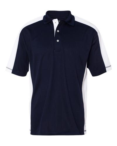 Colorblocked Moisture Free Mesh Sport Shirt