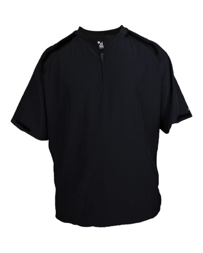Competitor Short Sleeve Pullover Windshirt