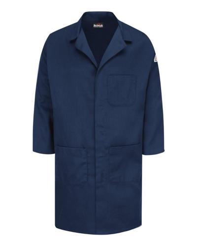 Concealed Snap Front Lab Coat - EXCEL FR® ComforTouch® - 6 oz.
