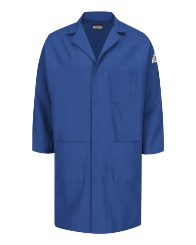 Concealed Snap Front Lab Coat - Nomex® IIIA - 6 oz.