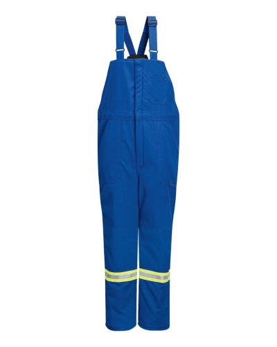 Deluxe Insulated Bib Overall with Reflective Trim - Nomex® IIIA