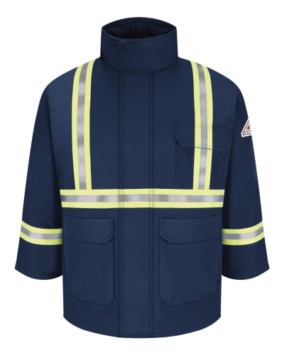 Deluxe Parka With Reflective Trim - EXCEL FR® ComforTouch
