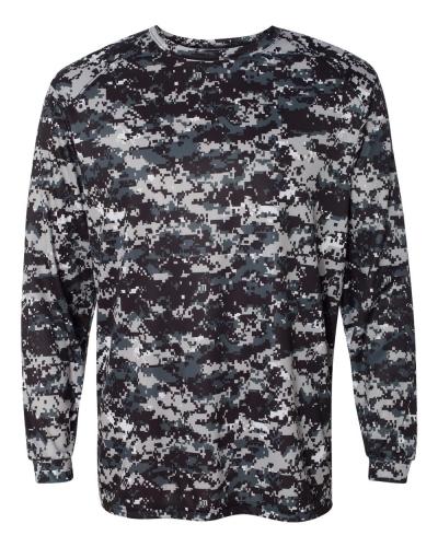 Digital Camo Long Sleeve T-Shirt
