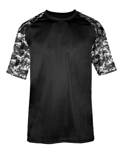 Digital Camo Youth Sport T-Shirt