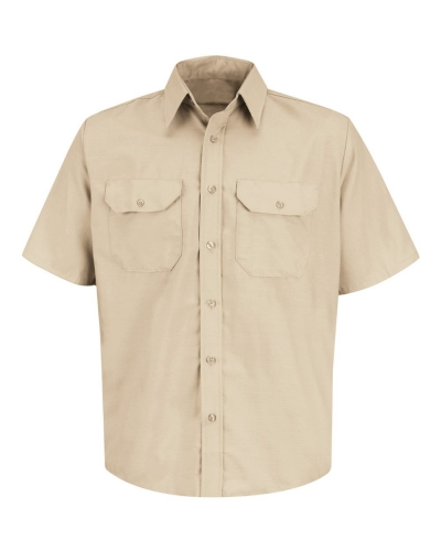 Dress Uniform Short Sleeve Shirt Long Sizes