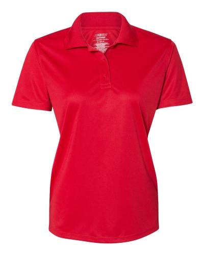 Dri-Power® Women's Polyester Mesh Sport Shirt