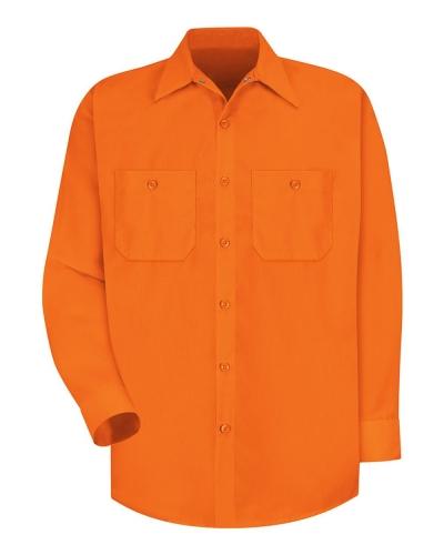 Enhanced Visibility Long Sleeve Work Shirt