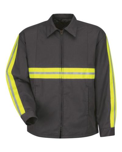 Enhanced Visibility Perma-Lined Panel Jacket - Long Sizes