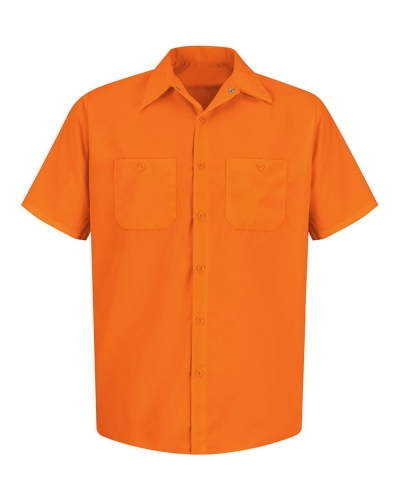 Enhanced Visibility Short Sleeve Work Shirt