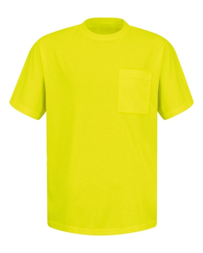 Enhanced Visibility T-Shirt with a Pocket