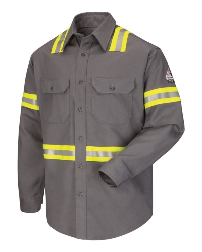 Enhanced Visibility Uniform Shirt - Long Sizes