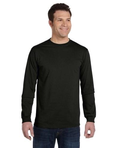 Men's 5.5 oz. 100% Organic Cotton Classic Long-Sleeve T-Shirt