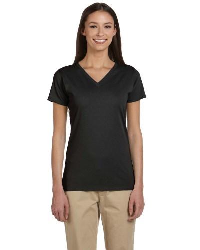 econscious EC3052 Ladies Organic Cotton Short-Sleeve V-Neck T-Shirt