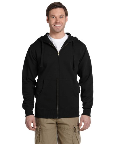 Men's 9 oz. Organic/Recycled Full-Zip Hood