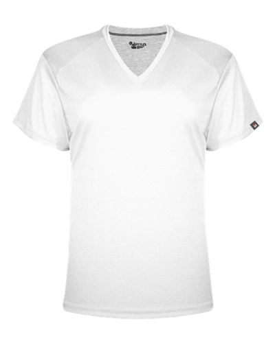 FitFlex Women's Short Sleeve Performance V-Neck Tee