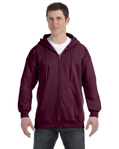 Hanes F280 Adult Ultimate Cotton 90/10 Full-Zip Hood