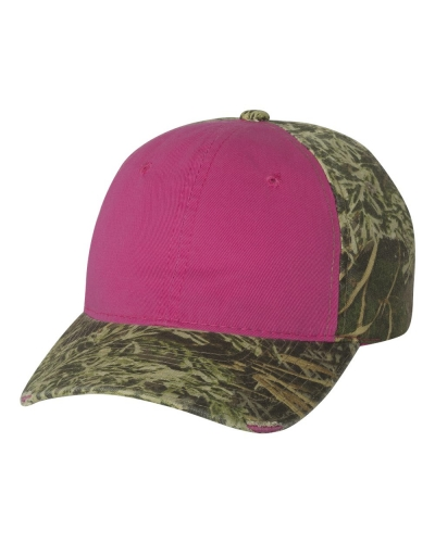Frayed Women's Camouflage Cap