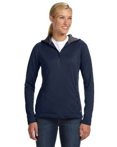 Ladies' Tech Fleece Quarter-Zip Pullover Hood