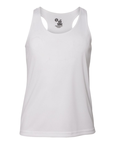 Badger 2166 Girls B-Core Racerback Tank Top