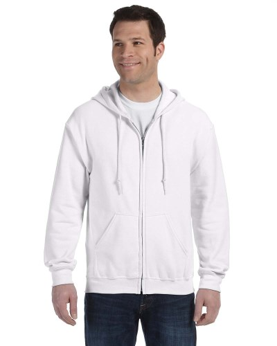 Gildan G186 Adult Heavy Blend 50/50 Full-Zip Hood