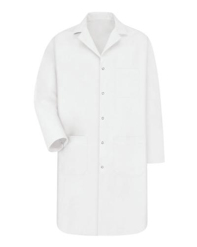 Gripper Front Lab Coat - Long Sizes