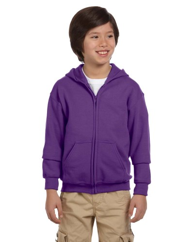 Youth Heavy Blend™ 8 oz. 50/50 Full-Zip Hood