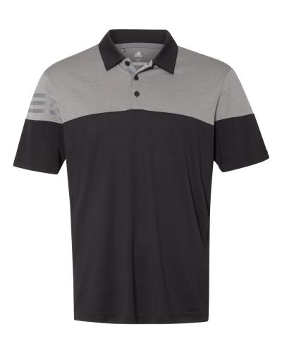 Heather 3-Stripes Block Sport Shirt