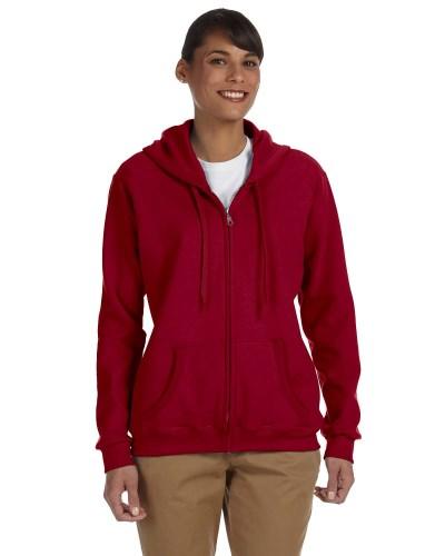 Ladies' Heavy Blend™ 8 oz. 50/50 Full-Zip Hood