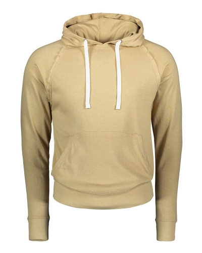 Heather Pullover Hooded Tee