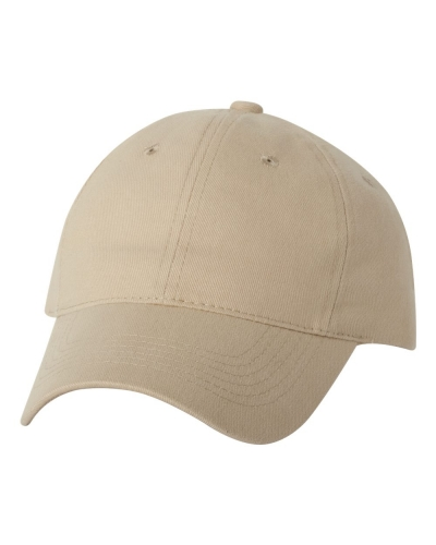 Heavy Brushed Twill Cap