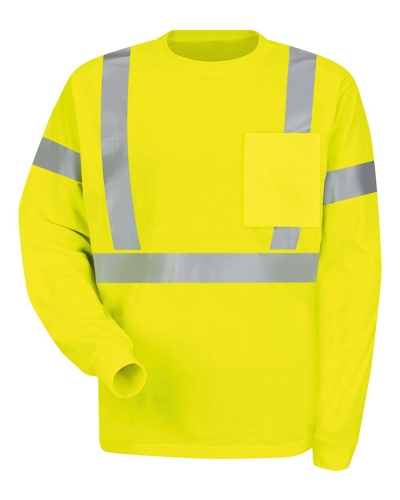 High Visibility Long Sleeve Safety T-Shirt