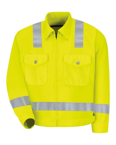 Hi-Visibility Ike Jacket - Long Sizes