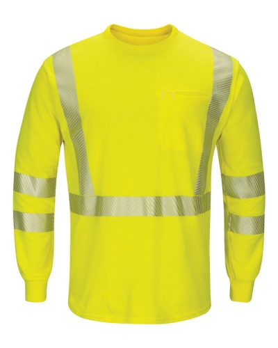 Hi-Visibility Lightweight Long Sleeve T-Shirt